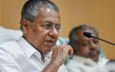 File photo of Kerala CM Pinarayi Vijayan.