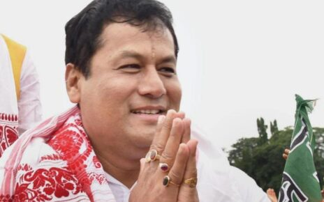 File photo of Assam Chief Minister Sarbananda Sonowal.