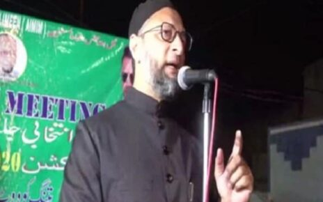 'Only Trump left to campaign': Asaduddin Owaisi's dig at BJP over Hyderabad municipal polls