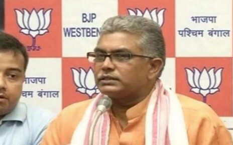 West Bengal polls: BJP's Dilip Ghosh faces 24-hour campaign over Sitalkuchi remarks