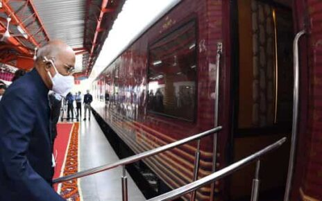 It would be after a gap of 15 years that an incumbent president is travelling by train.