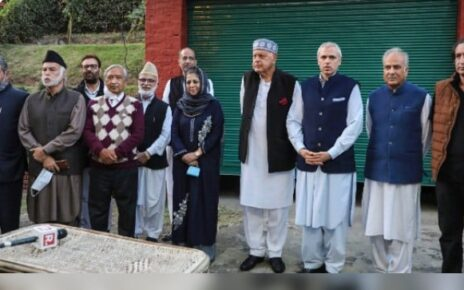 Differences emerge among Jammu and Kashmir politicos as Narendra Modi extends olive branch