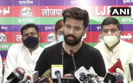 Chirag Paswan blames JD(U) for split in LJP, rejects decisions of faction headed by Pashupati Kumar Paras