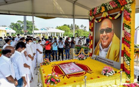 On Karunanidhi's Anniversary, TN Announces New Hosp, Free Bus Travel for Differently-abled, Trans Women