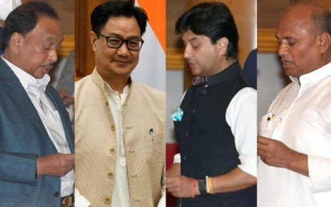 Here are the top gainers among Union Council of Ministers-Politics News , Firstpost