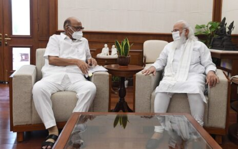 Before Monsoon Session, Sharad Pawar Meets PM Modi for '57 Minutes'