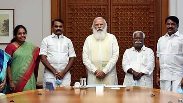 BJP won four seats in Tamil Nadu assembly polls held earlier this year.