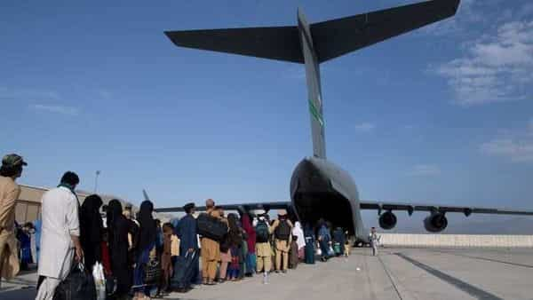 Afghans were told Sunday that there was no longer any hope of getting a seat on a military flight out of the country. (Photo: Reuters)