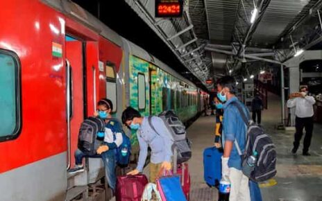 Wi-Fi based internet facility was provided in the Howrah Rajdhani Express train through satellite communication technology (PTI)
