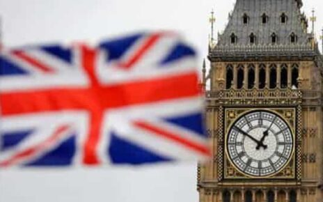 A file photo British Union flag waves in front of the Elizabeth Tower at Houses of Parliament containing the bell know as 'Big Ben' in central London (Photo: AP)