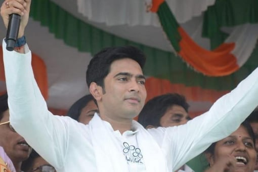 It is for the third time that TMC's Abhishe Banerjee was denied permission to conduct rally in Tripura. (File photo of Abhishek Banerjee/News18)