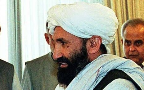 Taliban government's prime minister Mullah Mohammad Hassan Akhund. (AFP)