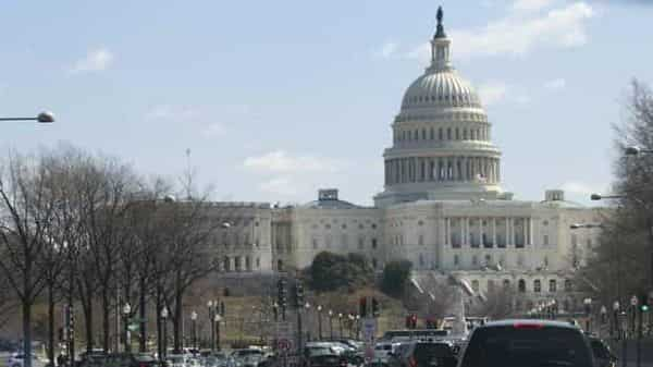 A file photo of White House to Capitol Hill in Washington. Photo:  Reuters