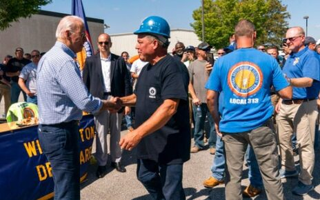 Biden Overstates UAW Support Of Electric Cars