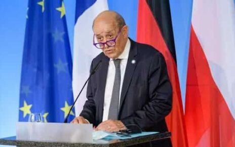 French Foreign Minister Jean-Yves Le Drian (Photo: Reuters)