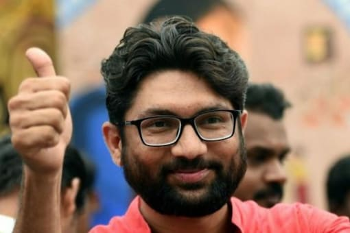 Gujarat Independent MLA, Dalit Leader Jignesh Mevani is set to join Congress ahead of next year's assembly elections. (File photo: PTI)