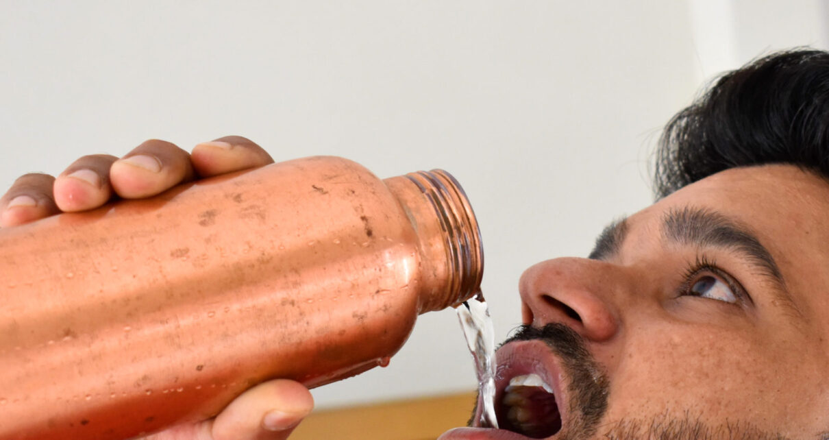 Health news benefits of drinking water from copper bottle vessels pra