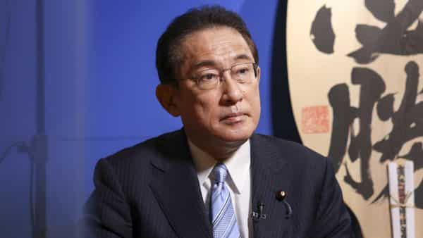 Fumio Kishida announced his candidacy this week for leadership of Japan's ruling Liberal Democratic Party, with a vote set to take place Sept. 29, ahead of a general election that must be held by the end of November. (Bloomberg)