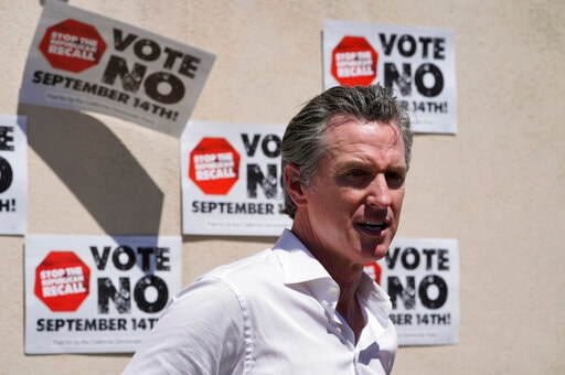 Newsom, Warren See National Consequences In Recall Fight