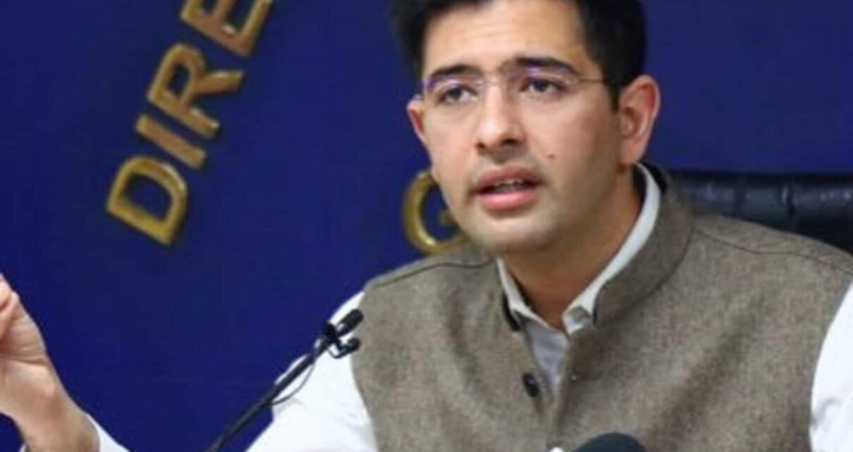 On Sidhu's Video Message, AAP's Raghav Chadha Makes Sexist Counter-attack