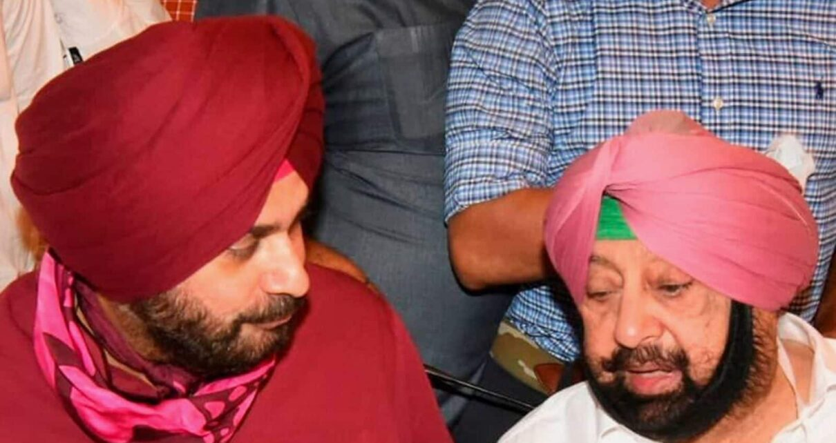 Sidhu Reaches Cong HQ Before Key Meet; Sources Say MLAs May Demand Change in Leadership