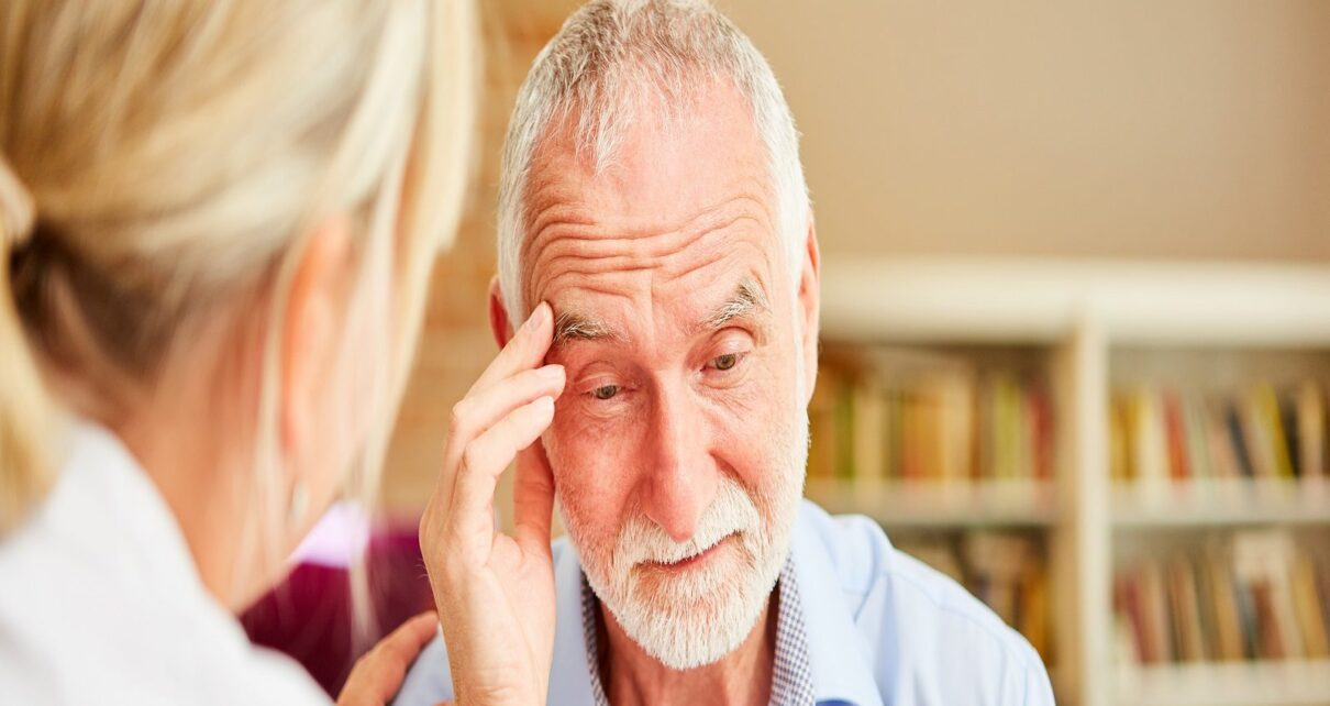 The risk of dementia in those who have been ill for a long time from corona research