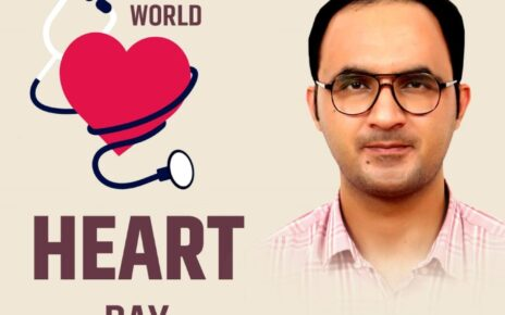 World Heart Day 2021 Dr Sunil Bamel of Maharaja Agrasen Hospital explains key points related to cardiac health and how to take care of heart