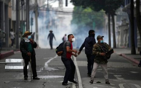Ex-soldiers Protest In Guatemala To Get Civil War Payment