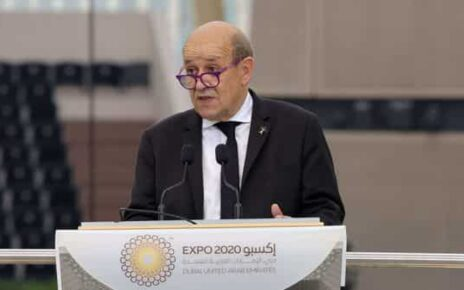 French Foreign Affairs Minister Jean-Yves Le Drian. (AFP)