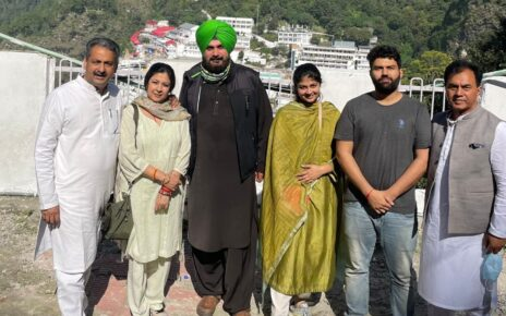 Sidhu-Channi Ties Remain Frosty as Punjab Cong Chief Skips CM's Son's Wedding to Visit Vaishno Devi