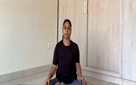 Yoga Session with Savita Yadav easy exercises to stay fit during festive season